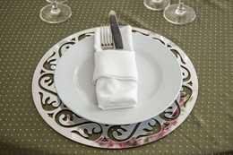 Sousplat espelho ,Para decoração de casamento e Buffet , mesa para decoração , sousplat para mesa de convidados , sosplast para casamento