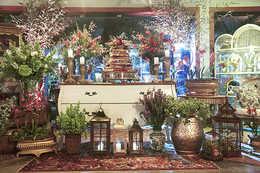 Tapete para Festas e Casamentos, Tapetes para Mesa de Bolo , Tapetes para decoração boho , tapete para decoração rustico .