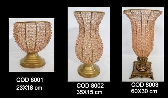 Vaso pedraria decoração vintage